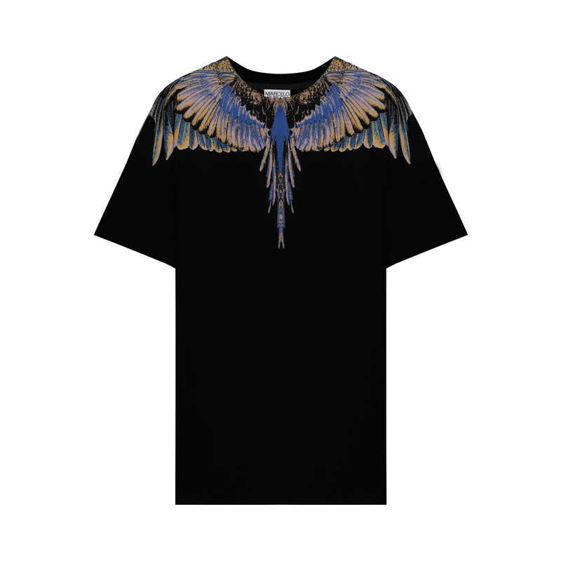 Marcelo Burlon - Black & Multicolor Wings T-shirt