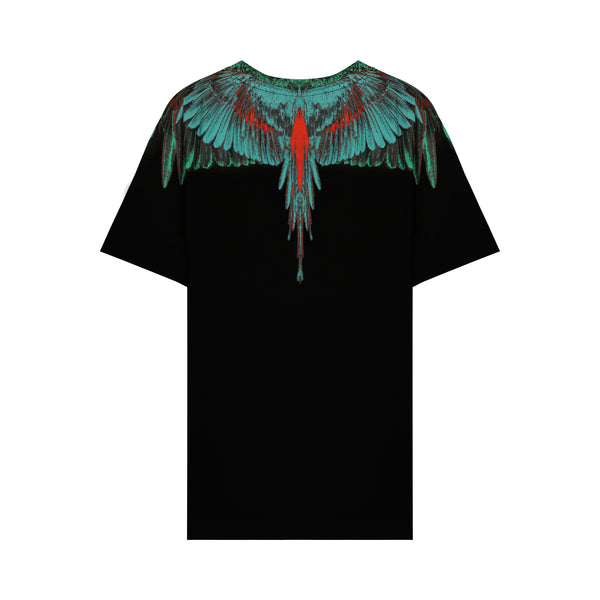 Black & Green Wings T-shirt