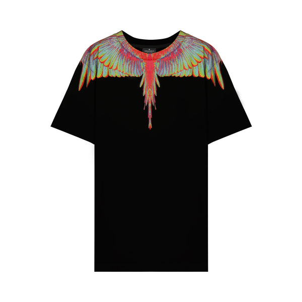 Black Fluo Wings T-shirt