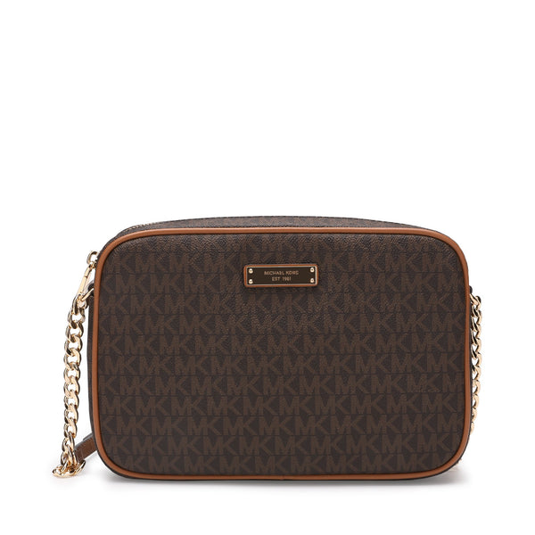 Michael Kors Jet Set Travel Logo Crossbody