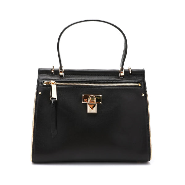 Michael Kors Jasmine Medium Leather Satchel