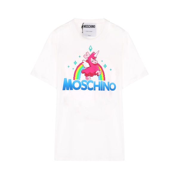 Moschino Unicorn Print T-shirt