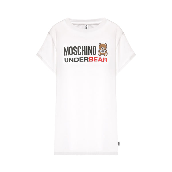 Moschino Underbear Print Long Length T-shirt
