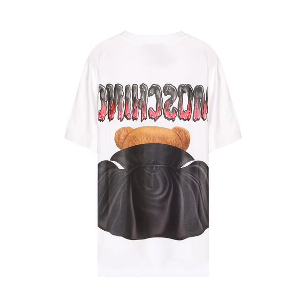 Moschino Bat Teddy Bear Print T-shirt