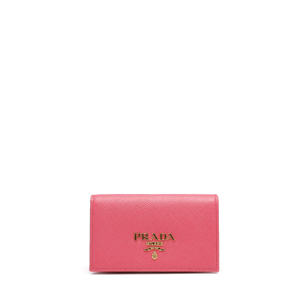 Prada Leather Card Holder
