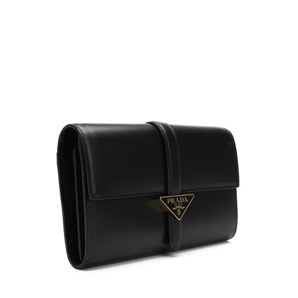 Prada - Rectangular Logo Clutch Bag