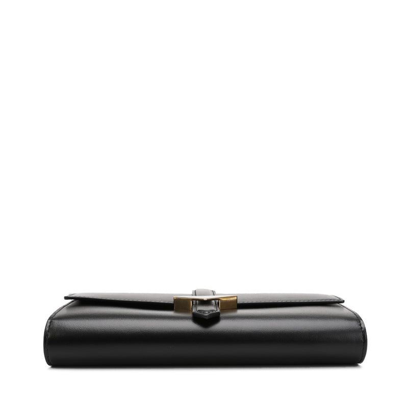 Rectangular Logo Clutch Bag