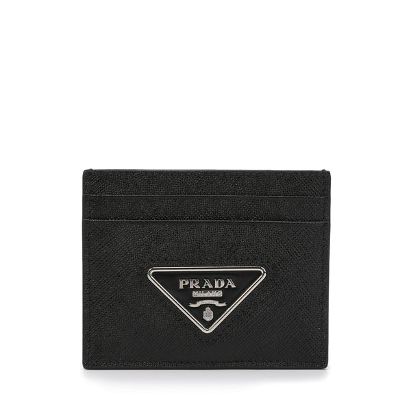 [LOWEST PRICE] - Prada - Logo Plaque Cardholder