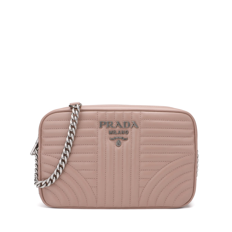 Prada - Diagrammed Crossbody Bag