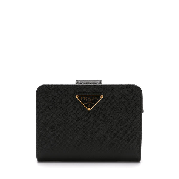 Prada Plain Folding Wallets