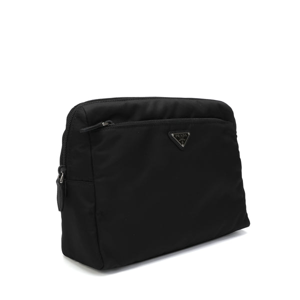 Prada - Logo-plaque Travel Pouch