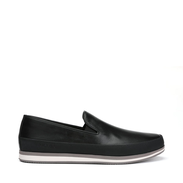 Prada Leather Slip on Sneakers
