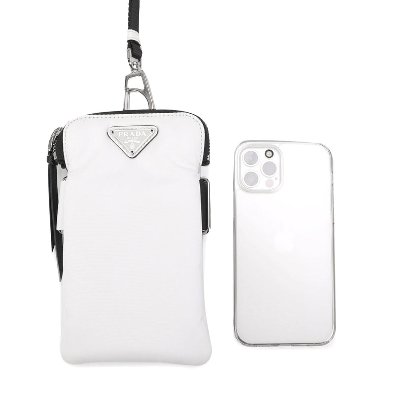 [LOWEST PRICE] - Prada - Logo Plaque Phone Pouch
