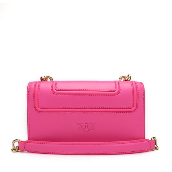 Pinko Mini Love Bag Fluo Crossbody Bag