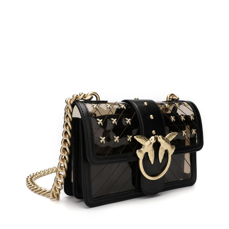 Pinko Mini PVC Love Bag