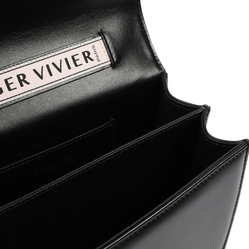 Très Vivier Duo Strass Buckle Bag