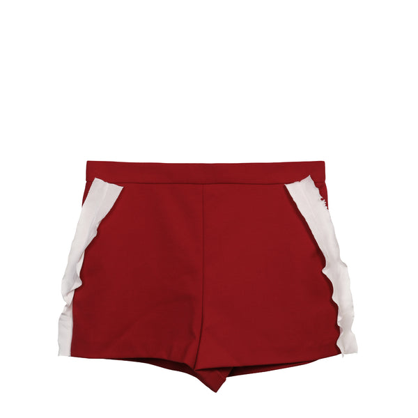 Ruffle detail Shorts