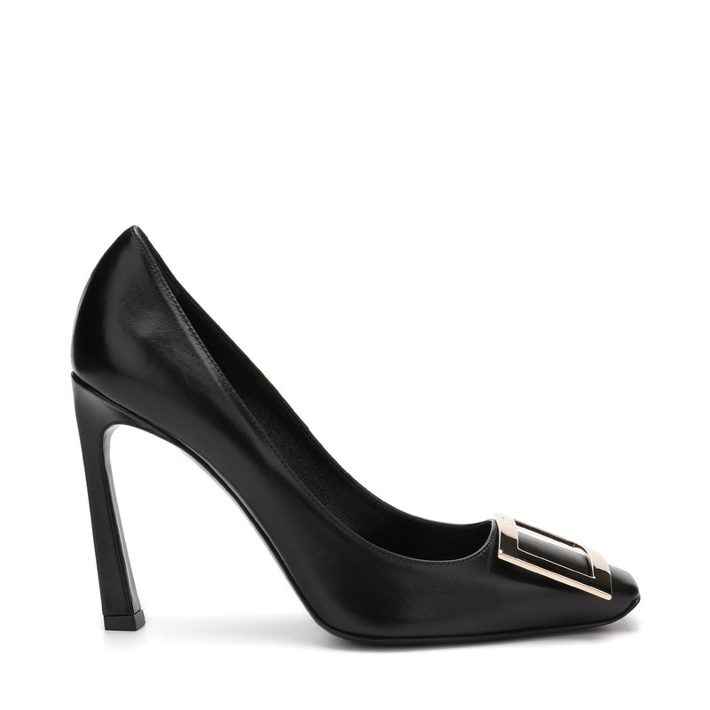 Roger Vivier Belle Vivier Trompette Pumps in Leather