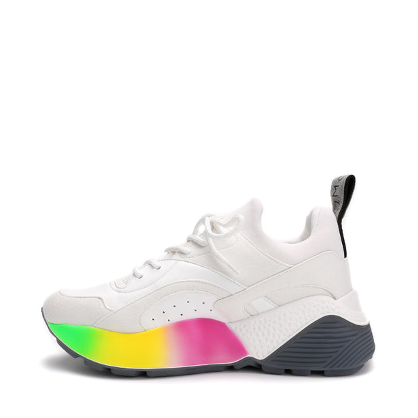 Stella McCartney Rainbow Platform Sneakers