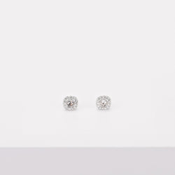 Swarovski Angelic Square Pierced Earrings