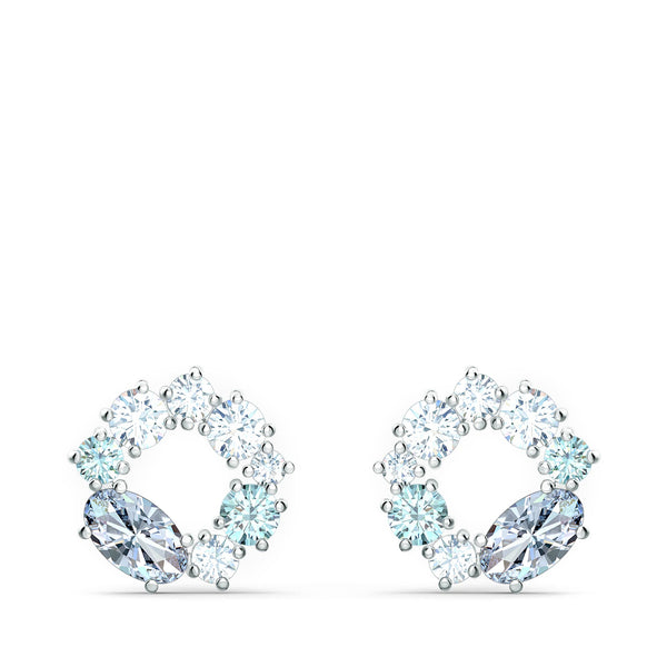 Swarovski - Attract Circle Stud Pierced Earrings