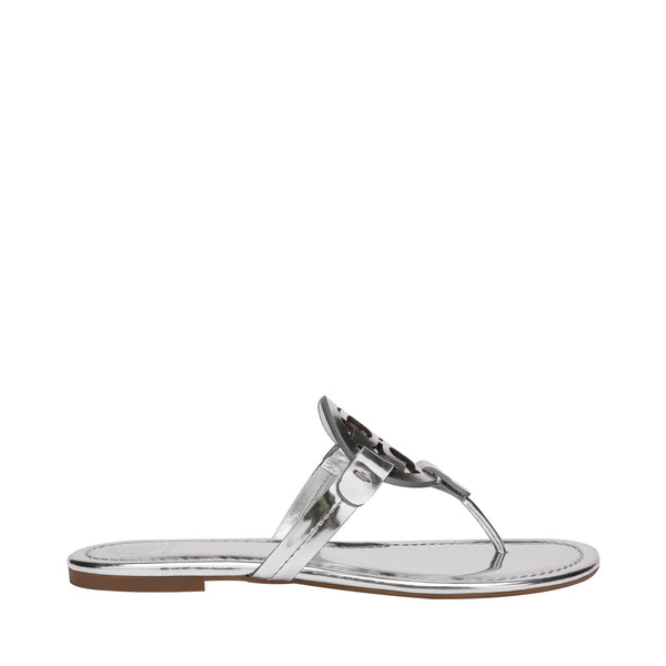 Tory Burch Miller Sandal in Metallic Leather