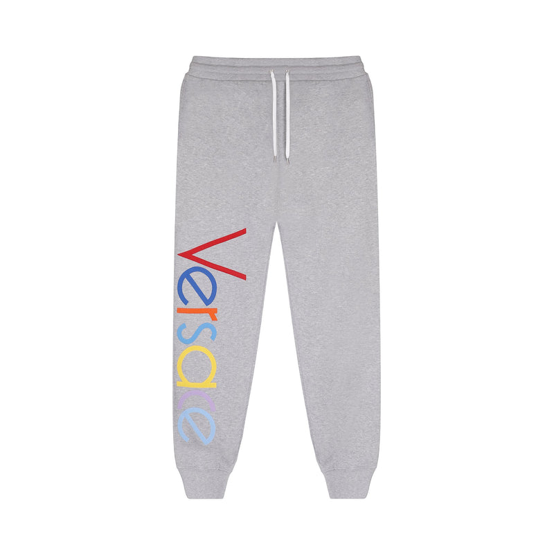 Versace Embroidered Logo Joggers