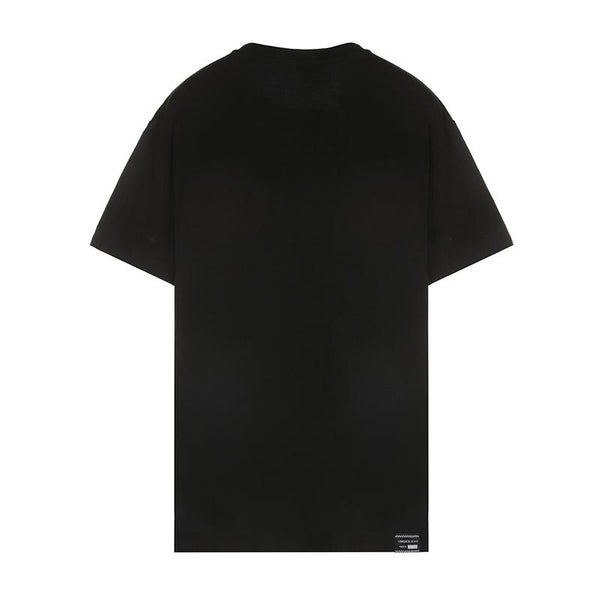 Versace Gold Embroidered Logo T-shirt