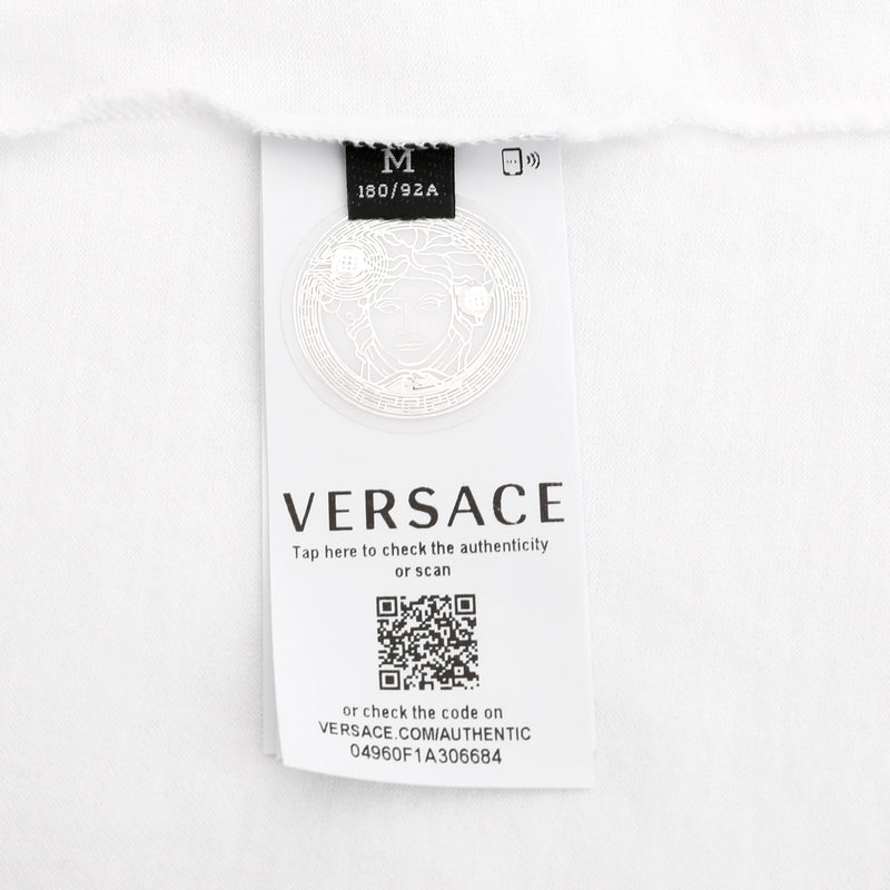 [LOWEST PRICE] - Versace - Multicolor Medusa logo print T-shirt