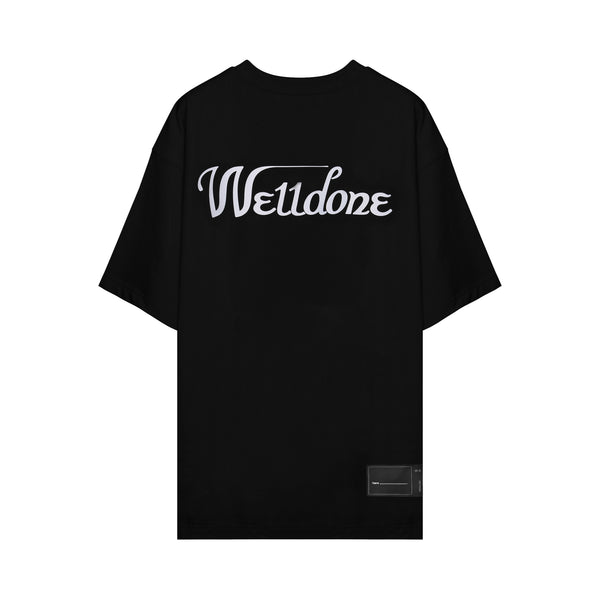 We11done - Logo print oversized T-shirt