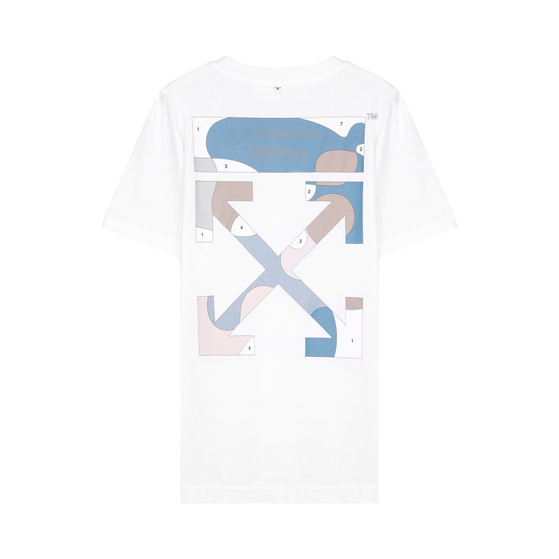Multicolor Puzzle Arrow T-shirt
