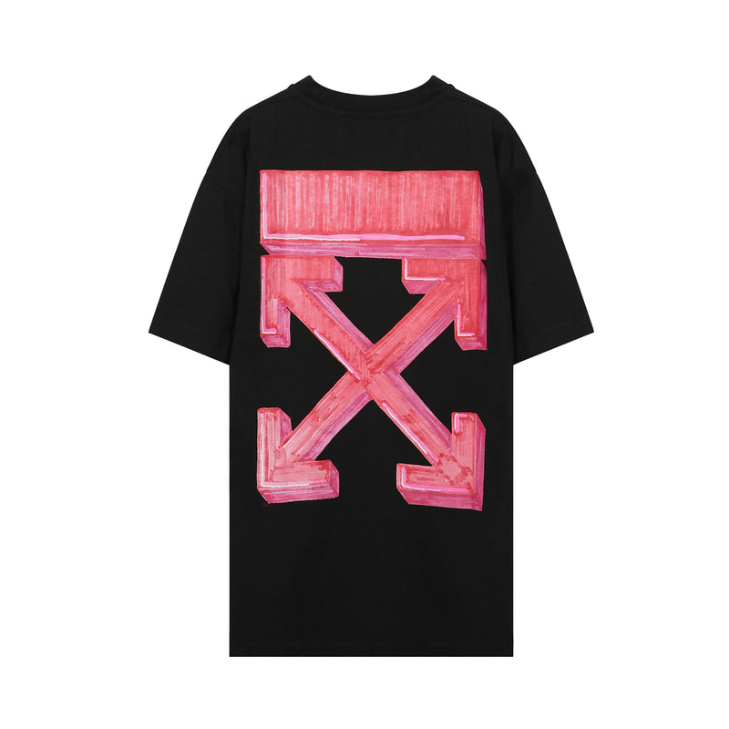off white - Marker Logo Cotton T-shirt