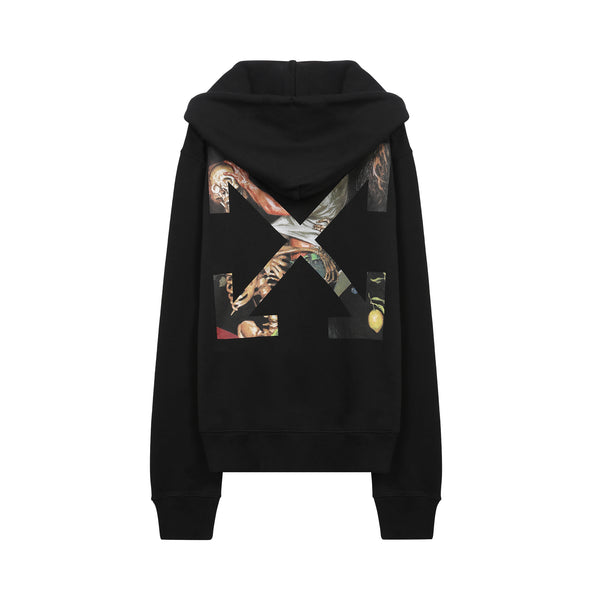 Off-White - Pascal Arrows Zip Up Hoodie