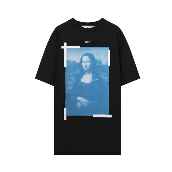 off white - Monalisa T-shirt