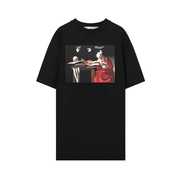 off white - Caravaggio Jersey T-Shirt