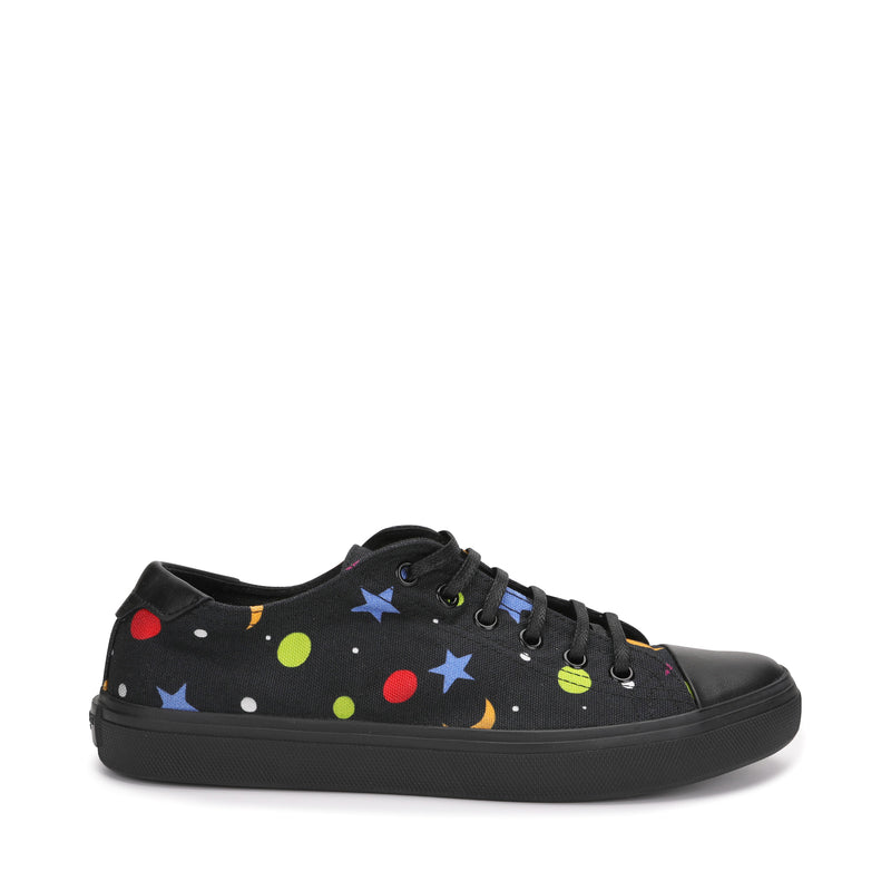 Star and Moon Print Sneaker