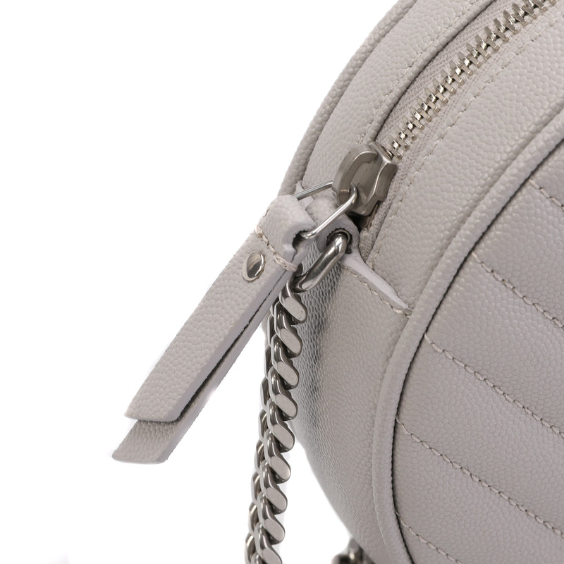 Saint Laurent - Round Quilted Bag