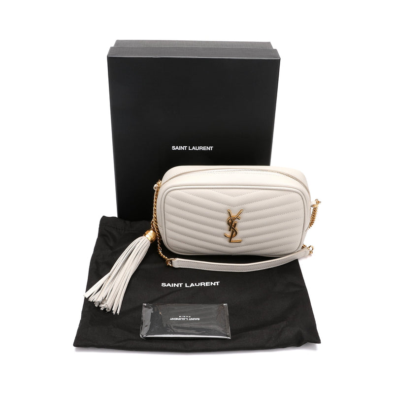 Saint Laurent Mini Lou Crossbody Bag