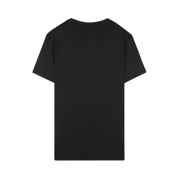 Saint Laurent 1971 Silver Print S/S T-shirt