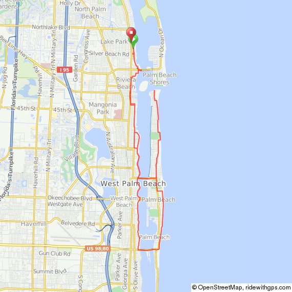 Local Rides & Maps – On Your Mark Performance Center | (561) 842-2453