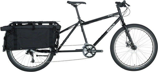 "Surly Big Dummy Cargo Bike, 26"", Blacktacular, Medium"