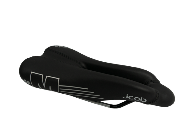 jcob Delta M Black/Silver Saddle