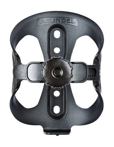 Arundel Looney Bin Adjustable Bottle Cage Black