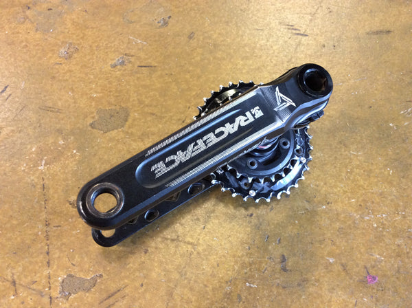 RaceFace Cinch 175mm Crankset 30mm 2x 34/28 with Bottom Bracket