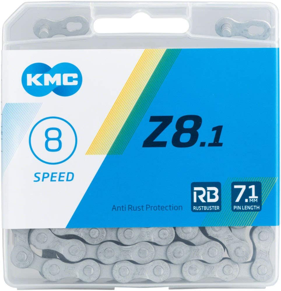 KMC  Z8.1 Z51 RB 678 Sp Rust Buster Chain 7.1mm
