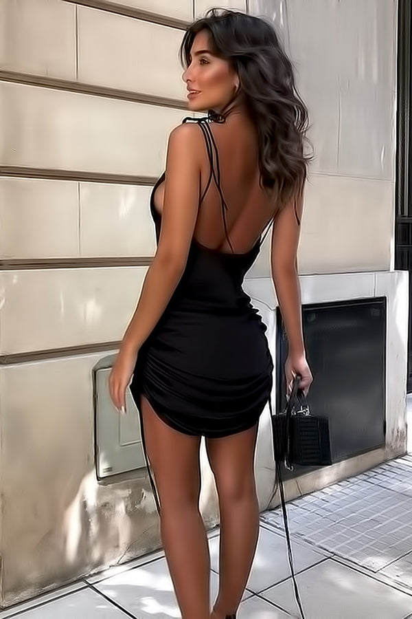 Casual Backless Sexy Dresses