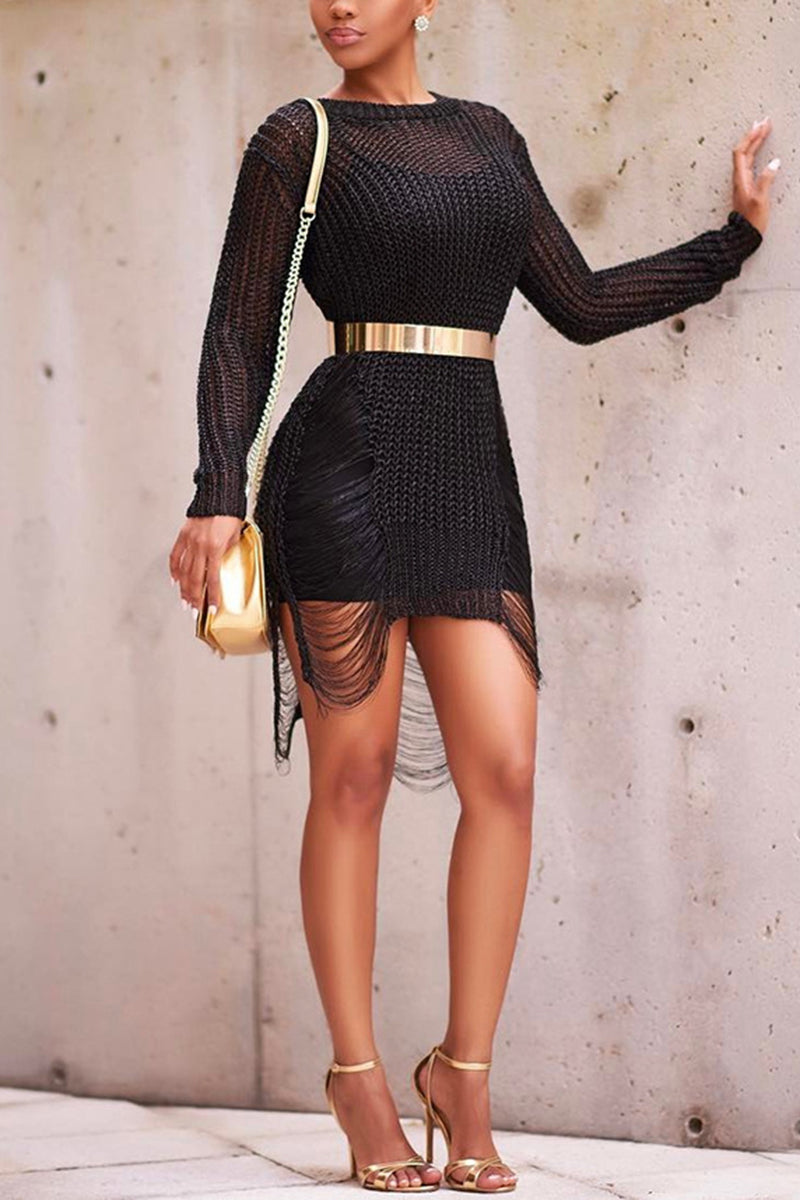 Stylish Knitted Dress