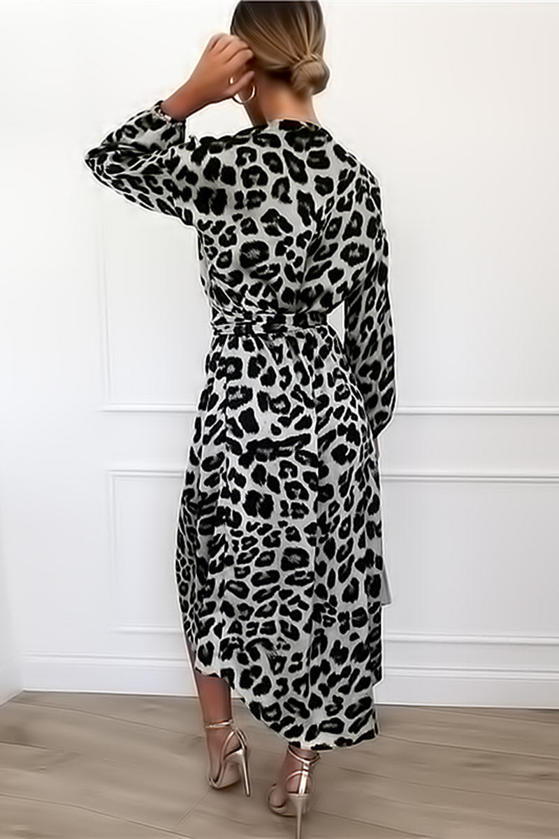 Leopard Sexy Party Dress