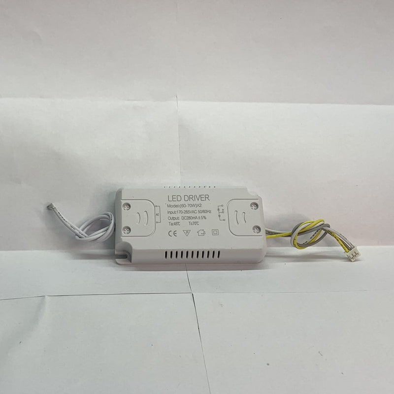 LED DRIVER 60-70WX2 double color לד דרייבר