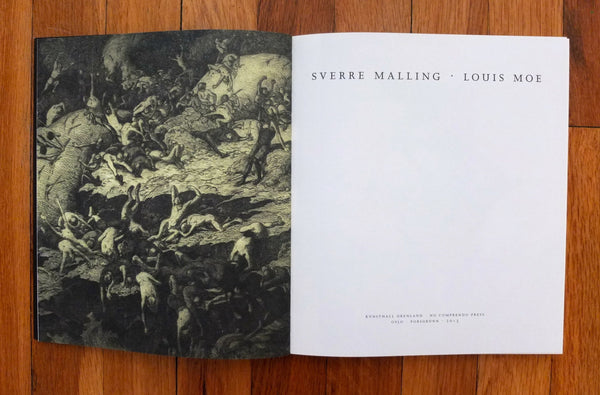 «Sverre Malling -- Louis Moe» (in Norwegian and English)